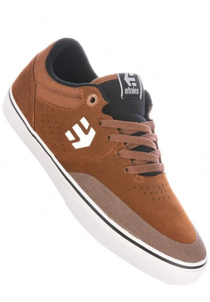 etnies Alle Schuhe Marana Vulc brown-black-white vorderansicht 0603537