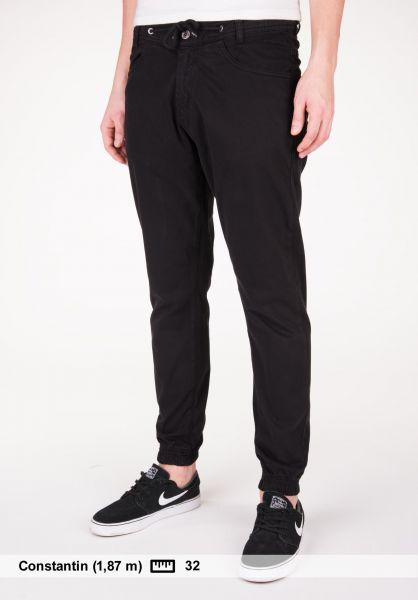 Makia Chinos und Stoffhosen Nautical Trousers black Vorderansicht 0204061