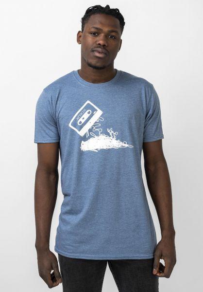 Atticus T-Shirts Hometaping heatherindigo vorderansicht 0379245
