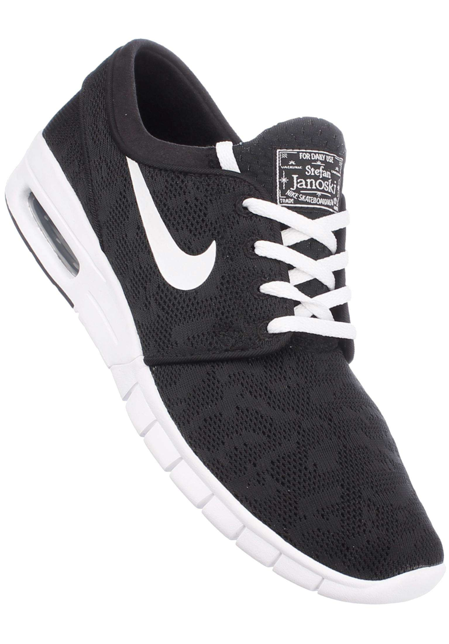 0d806e676c Stefan Janoski Max Nike SB All Shoes in black-white for Men | Titus