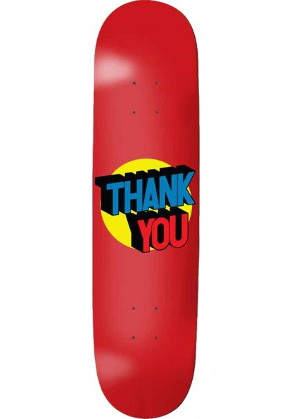 Thank You Skateboards Skateboard Decks Spot On blue vorderansicht 0263910