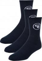 TITUS Socken Classic Icon 3er Pack navy Vorderansicht