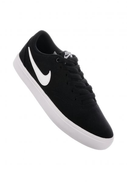 hot sale online 972ac 011c5 Nike SB Alle Schuhe SB Check Solarsoft black-white-pureplatinum  Vorderansicht