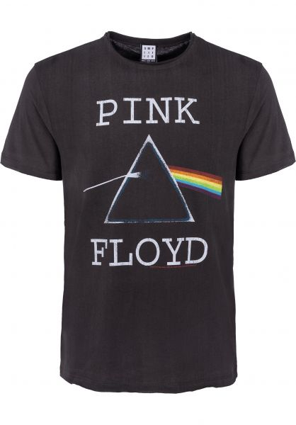 Amplified T-Shirts Pink Floyd Dark Side Of The Moon charcoal Vorderansicht