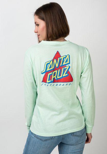 Santa-Cruz Longsleeves Not A Dot pasteljade vorderansicht 0383628