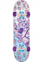 santa-cruz-skateboard-komplett-floral-decay-hand-mini-white-lightblue-vorderansicht-0162510