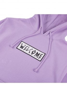 Welcome Scrawl Embroidered Midweight