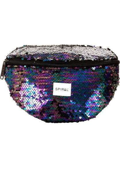 Spiral Hip-Bags Platinum Bum Bag midnight-sequin Vorderansicht