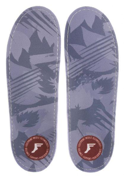 Footprint Insoles Einlegesohlen Kingfoam Gamechangers Camo lightgrey-camo vorderansicht 0249076