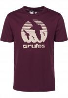 Rules T-Shirts Doves darkburgundy Vorderansicht