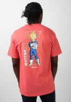 primitive-skateboards-t-shirts-x-dragon-ball-z-vegeta-glow-coral-vorderansicht-0321187