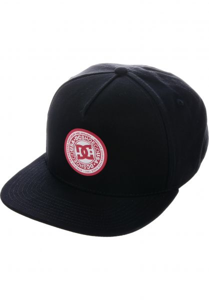 DC Shoes Caps Reynotts black vorderansicht 0566137