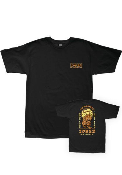 Loser-Machine T-Shirts Dojo black vorderansicht 0320412