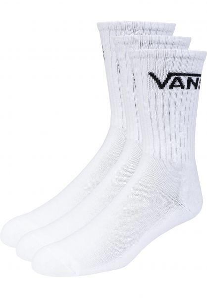 Vans Socken Classic Crew 3 Pack Kids white vorderansicht 0631042