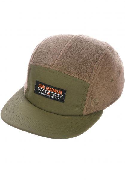 coal Caps The Bridger olive vorderansicht 0566377
