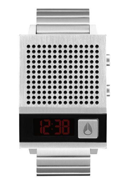 Nixon Uhren The Dork Too black vorderansicht 0810385