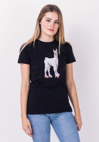iriedaily T-Shirts Rolama black vorderansicht 0322267