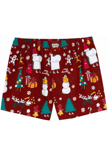 Lousy Livin Unterwäsche Merry Merry burgundy vorderansicht 0213118