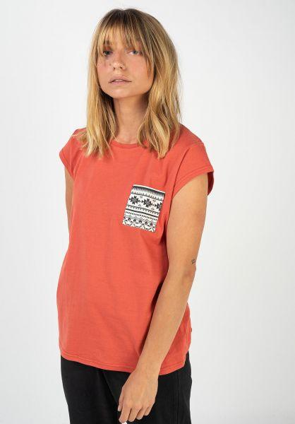TITUS T-Shirts Kimi orange-ethno vorderansicht 0396515