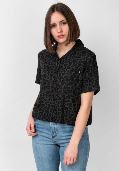 Element Hemden kurzarm Ramblin black-leopard vorderansicht 0400937