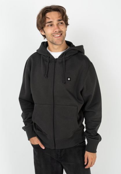 Element Zip-Hoodies 92 offblack vorderansicht 0454833