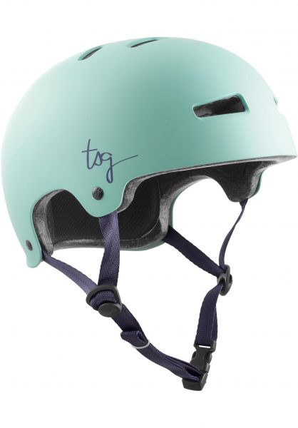 TSG Helme Evolution Women Solid Color satin mint vorderansicht 0750102