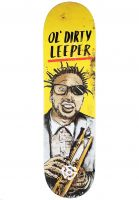 Stereo-Skateboard-Decks-Leeper-Ol-Dirty-yellow-Vorderansicht