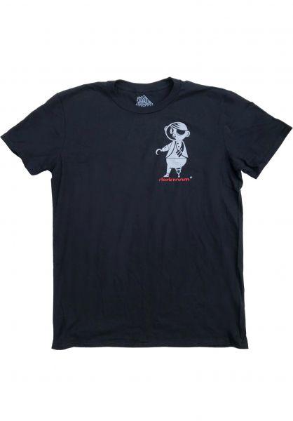 Darkroom T-Shirts The Hook black vorderansicht 0383836