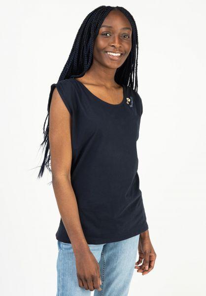 Ragwear T-Shirts Greta navy 121 vorderansicht 0399351