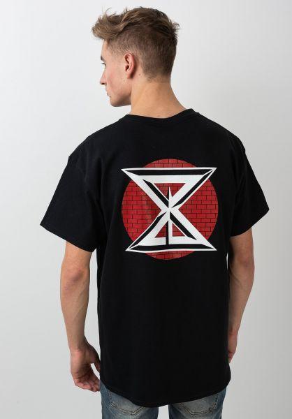 Sour Solution T-Shirts DK black vorderansicht 0321292