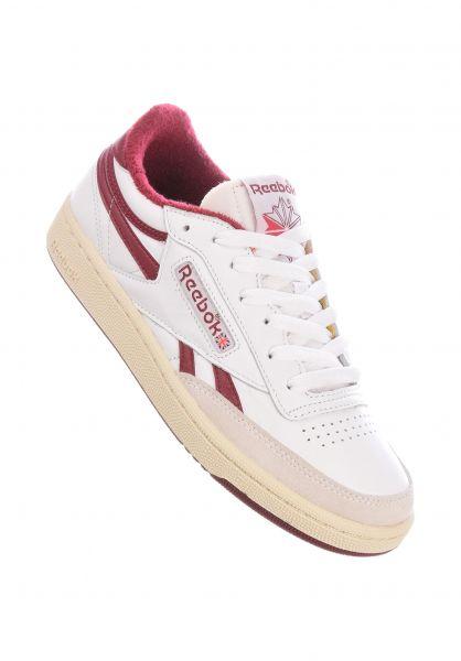 Reebok Alle Schuhe Club C Revenge revengewhite-cburgu-excred vorderansicht 0612548