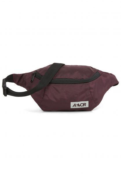 AEVOR Hip-Bags Hip Bag ripstop-ruby vorderansicht 0169111