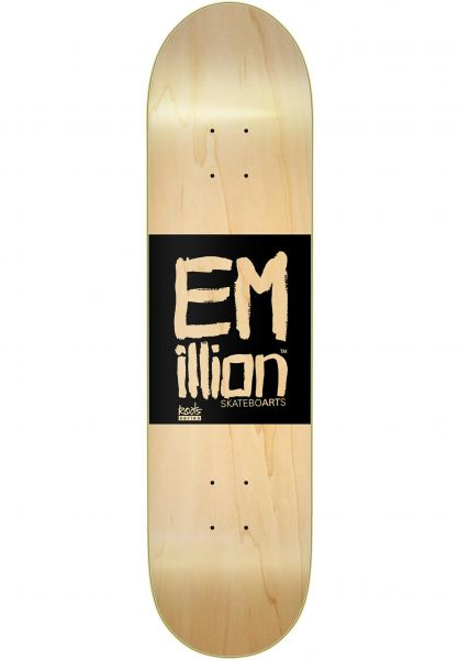 EMillion Skateboard Decks Roots natural vorderansicht 0262532