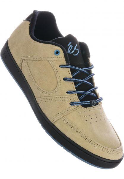 ES Alle Schuhe Accel Slim tan-black vorderansicht 0603924
