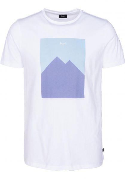 Forvert T-Shirts Tampere white Vorderansicht 0397981