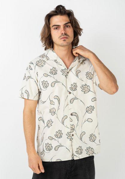 Rhythm Hemden kurzarm Portugal seagrass vorderansicht 0400995