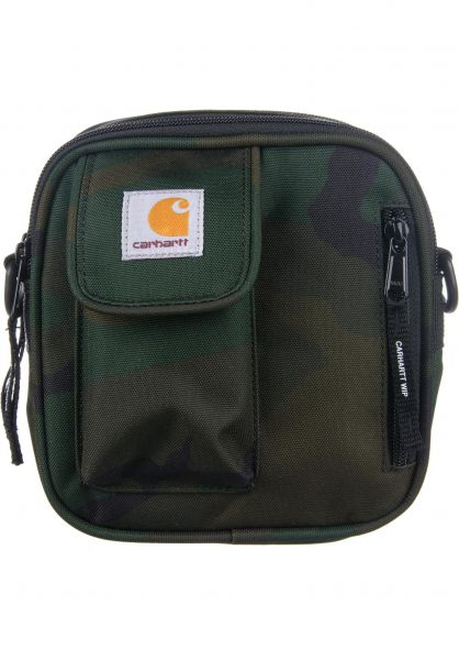 Carhartt WIP Taschen Essentials camo-laurel Vorderansicht 0890143