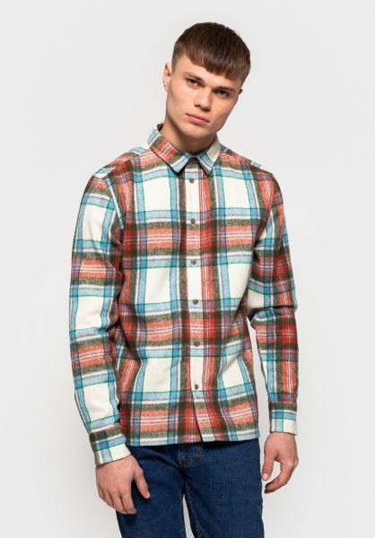 RVLT Hemden langarm 3730 Flannel offwhite vorderansicht 0411976