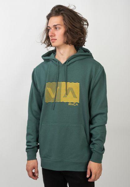 RVCA Hoodies Logo Pack alpine vorderansicht 0445526