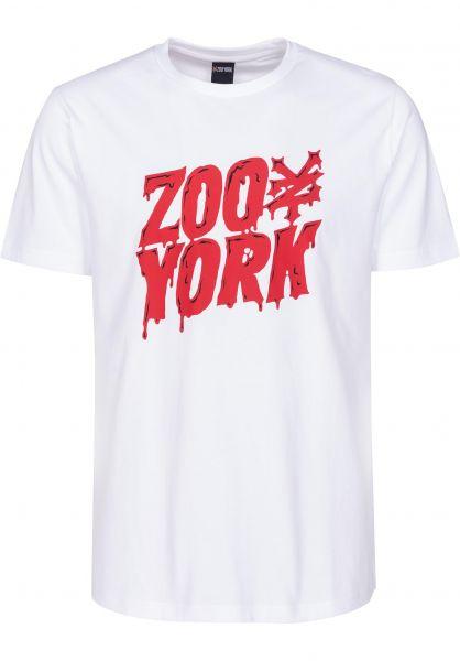 Zoo York T-Shirts Zoo Monster white Vorderansicht