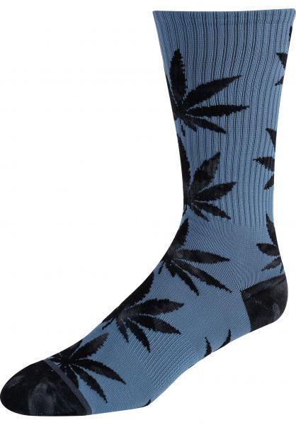HUF Socken Tie Dye Leaves Plantlife bluemirage vorderansicht 0631873
