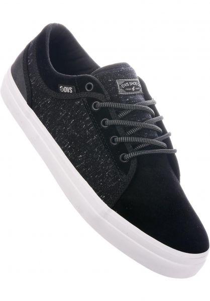 DVS Alle Schuhe Aversa + black-charcoal Vorderansicht