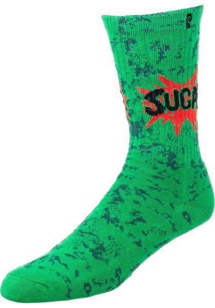 Psockadelic Socken Sugar green vorderansicht 0631743