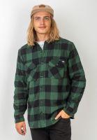 dickies-hemden-langarm-lansdale-sherpa-pinegreen-vorderansicht-0411924