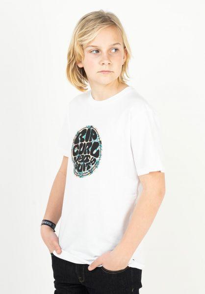Rip Curl T-Shirts Filgree Wetty white vorderansicht 0323989