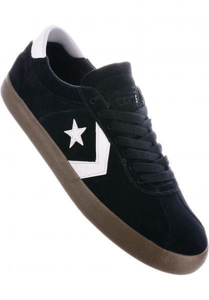 Converse CONS Alle Schuhe Breakpoint Pro Ox black-white-gum Vorderansicht