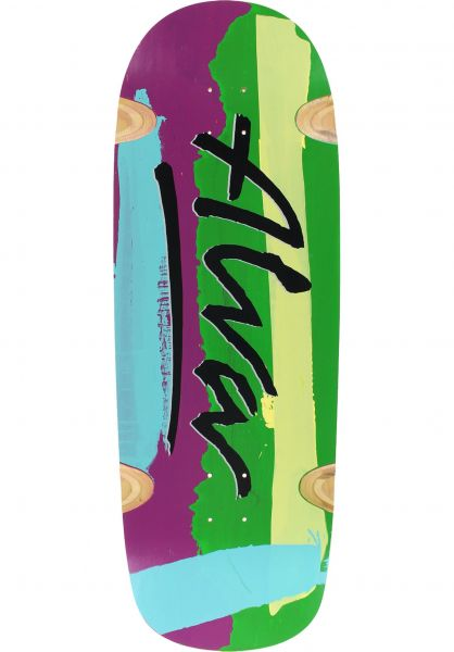 Alva Skateboard Decks Abstrakt multicolored Vorderansicht