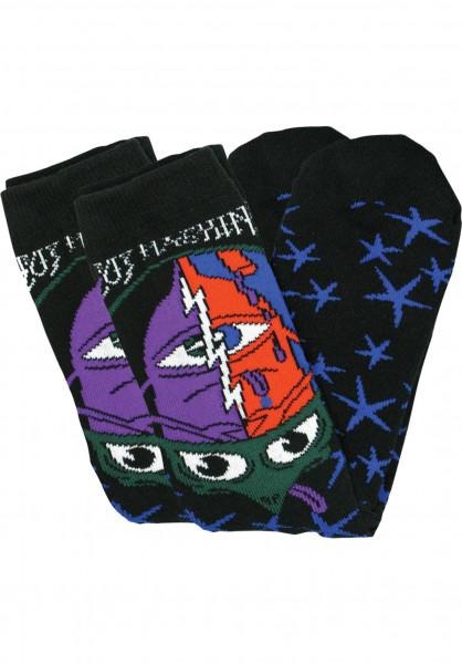 Toy-Machine Socken Turtlehead multicolored Vorderansicht
