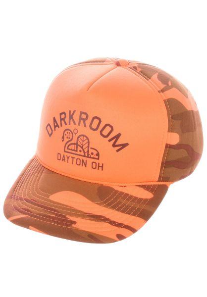 Darkroom Caps Hunter orange vorderansicht 0566365