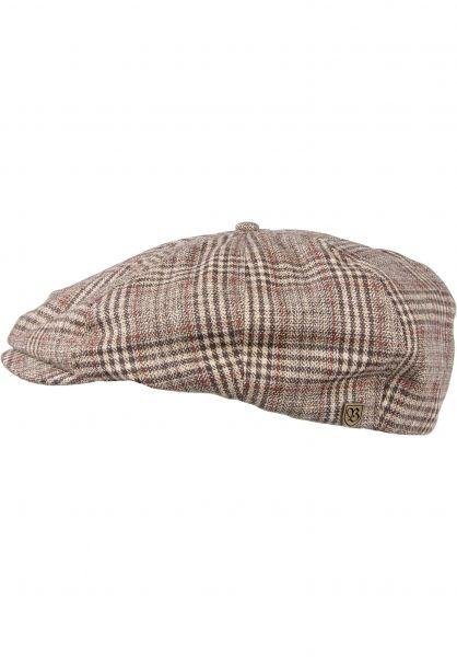 Brixton Hüte Brood khaki-plaid vorderansicht 0580161